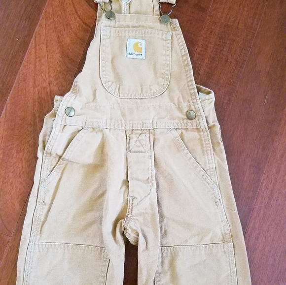 03f644ed Carhartt Bottoms   Vintage Toddler Overalls 2t Euc Brown   Poshmark